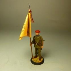 Cabo porta estandarte de Infantería