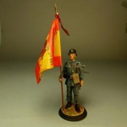 Abanderado del 239 regimiento de Infantería
