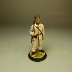 Capitán de la Compañía de Infantería de Fernando POO Gala-1858