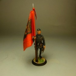 Abanderado 3º Batallón del 263 Regimiento de Infantería