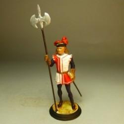 Alabardero Guardia Fernando el Católico 1604