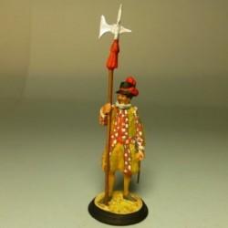 Alabardero de la Guardia Española 1610