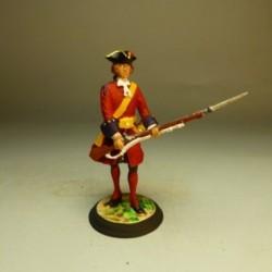 Fusilero Tercio Colorados Viejos 1701-1707