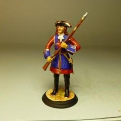 (SE-32) Mosquetero Guardia del Rey 1703