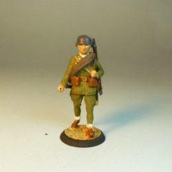 (NR-10) Soldado de Infantería con uniforme de campaña 1936-1939
