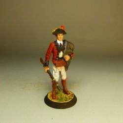 Infanteria Ligera 1º Regimiento Voluntario Cataluña 1789