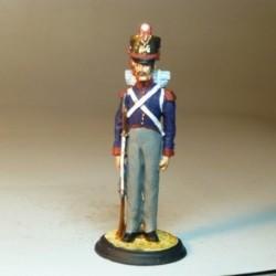 Granadero de Infantería de Linea Gala 1821