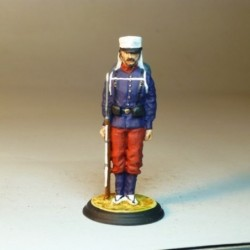 Soldado de Infantería de Linea 1874