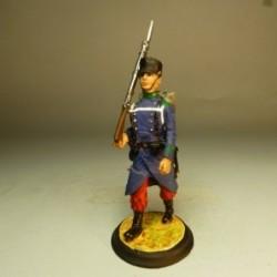 Soldado de Cazadores 1875