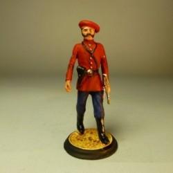 Oficial de 1º Batallón de Gerona 1875