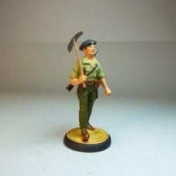 (NR-17) Soldado de agrupación de Minadores 1936-1939