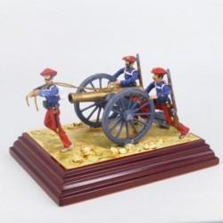 (X-7) Artillería Carlista 1836