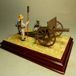Artillería Guerra de Cuba 1897