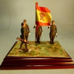 La Primera Jura de Bandera de la Legión 1920